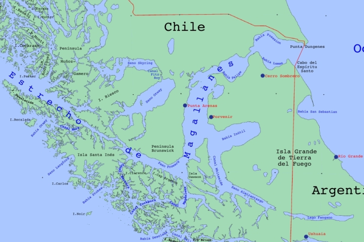 Straits of Magellan